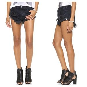 One Teaspoon For Free People Bandits Jean Shorts